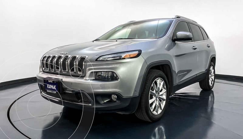 Jeep Cherokee Limited usado (2014) color Gris precio $264,999