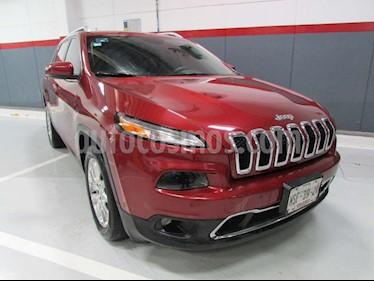 Jeep Cherokee Limited usado (2014) color Rojo precio $235,000