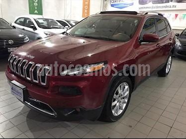 Jeep Cherokee Limited Plus usado (2017) color Rojo precio $368,000
