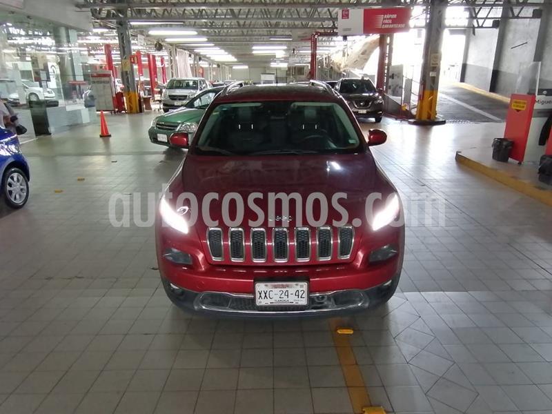 Jeep Cherokee Limited usado (2014) color Rojo precio $236,000
