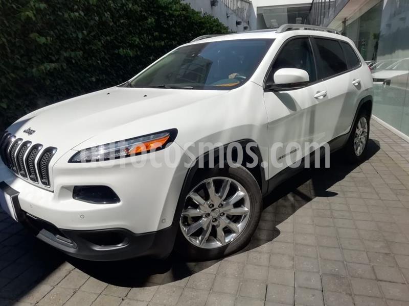 Jeep Cherokee Limited usado (2016) color Blanco precio $315,000