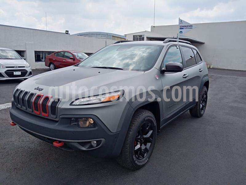 Jeep Cherokee TrailHawk usado (2015) color Gris Oscuro precio $360,000
