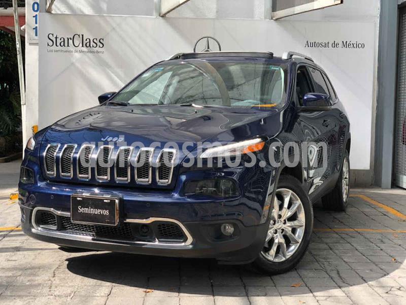Jeep Cherokee Limited Premium usado (2015) color Azul precio $315,000