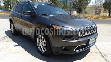 Jeep Cherokee 5P LIMITED PREMIUM L4 2.4L TA PIEL QCP GPS BI-XEN usado (2014) color Gris precio $230,000