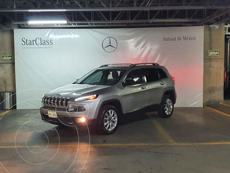 Foto Jeep Cherokee Limited Premium usado (2015) color Plata precio $235,000