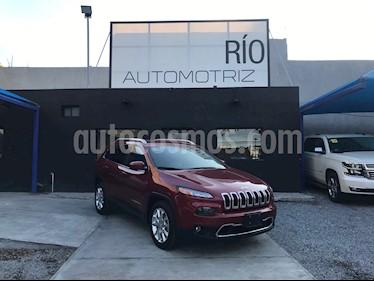 Jeep Cherokee Limited usado (2015) color Rojo Cerezo precio $263,000