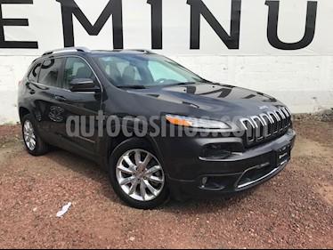 Jeep Cherokee Limited Plus usado (2017) color Granito precio $355,000