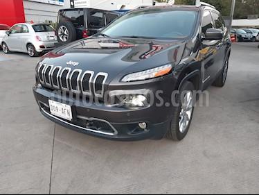 Jeep Cherokee Limited Premium usado (2016) color Granito precio $350,400
