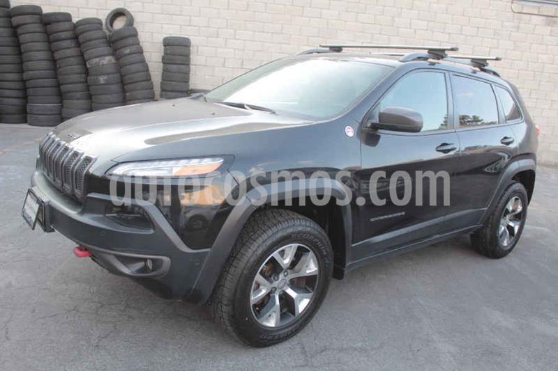 Jeep Cherokee TrailHawk usado (2014) color Negro precio $289,000