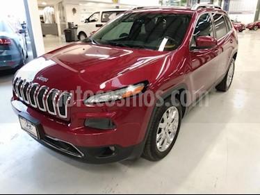 Jeep Cherokee 5P LIMITED PREMIUM L4 2.4L TA PIEL QCP GPS BI-XEN usado (2012) color Rojo precio $285,000