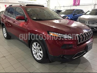 Jeep Cherokee Limited Plus usado (2017) color Rojo precio $349,500