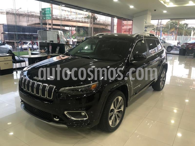 Jeep Cherokee Overland usado (2019) color Negro precio $520,000