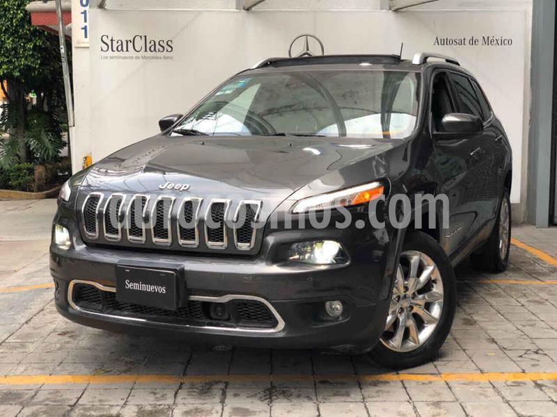 Jeep Cherokee Limited Premium usado (2015) color Gris precio $315,000