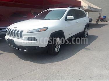 Jeep Cherokee Limited Premium usado (2014) color Blanco precio $260,000