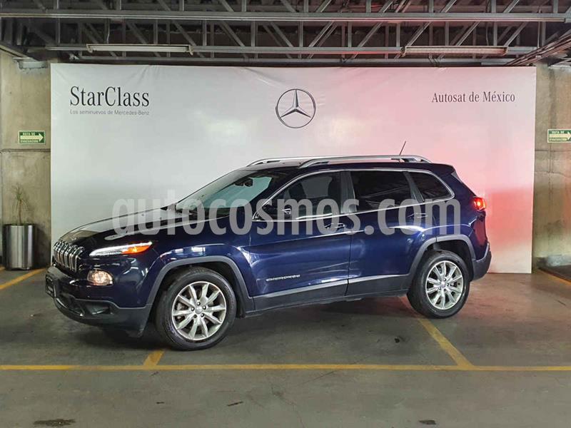 Jeep Cherokee Limited usado (2015) color Azul precio $269,000