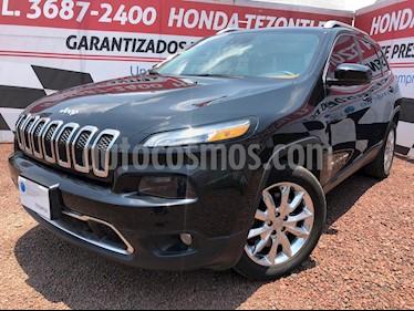 Jeep Cherokee Limited Premium usado (2014) color Negro precio $260,000