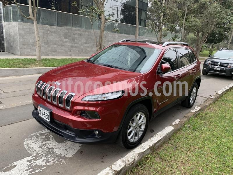 Jeep Cherokee 4.0 cc usado (2016) color Rojo precio u$s5,255