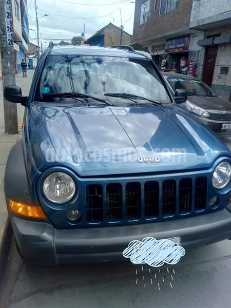 Jeep Cherokee 2.4L Sport 4x2 usado (2006) color Azul precio u$s7,500