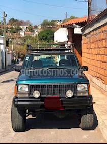 Foto venta Auto usado Jeep Cherokee Sport 4X4 (1995) color Verde precio $65,000