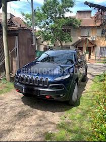 Jeep Cherokee Trailhawk 3.2 Aut usado (2018) color Azul precio u$s49.500