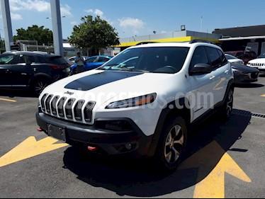 Foto venta Auto usado Jeep Cherokee TrailHawk (2017) color Blanco precio $470,000