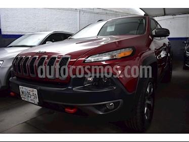 Foto venta Auto usado Jeep Cherokee TrailHawk (2015) color Rojo precio $370,000