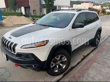 Jeep Cherokee TrailHawk usado (2015) color Blanco precio $360,000