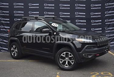 Foto venta Auto usado Jeep Cherokee TrailHawk (2014) color Negro precio $295,000