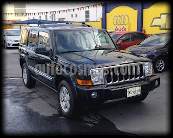 Jeep Commander 5.7L 4x2 Limited Premium usado (2007) color Negro precio $125,000