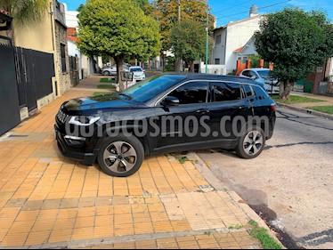 Jeep Compass 2.4 4x2 Longitude Aut usado (2018) color Negro precio $1.453.850