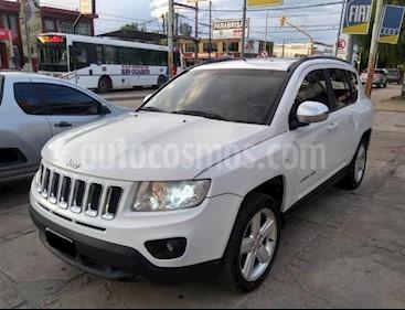 Foto venta Auto Usado Jeep Compass 2.4 4x4 Limited Aut (2012) color Blanco precio $495.000