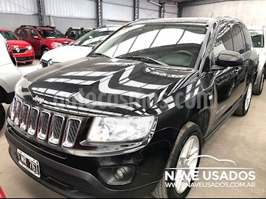 Foto venta Auto Usado Jeep Compass 2.4 4x4 Limited Aut (2012) color Negro