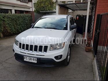 Jeep Compass  2.4L Longitude 4x2  usado (2013) color Blanco precio $7.250.000