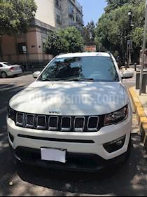 Jeep Compass 4x2 Latitude Aut usado (2018) color Blanco precio $370,000