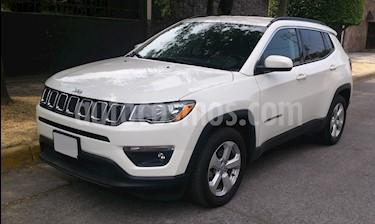 Jeep Compass 4x2 Latitude Aut usado (2018) color Blanco precio $367,000