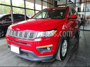 Foto venta Auto usado Jeep Compass 4x2 Latitude Aut (2019) color Rojo Cerezo precio $395,000