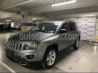 Foto venta Auto usado Jeep Compass 4x2 Latitude Aut (2014) color Gris precio $185,000