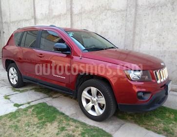 Foto venta Auto usado Jeep Compass 4x2 Latitude Aut (2014) color Rojo Cerezo precio $182,000
