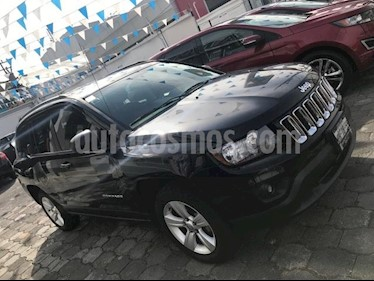 Foto venta Auto usado Jeep Compass 4x2 Latitude Aut (2014) color Gris Oxford precio $199,900