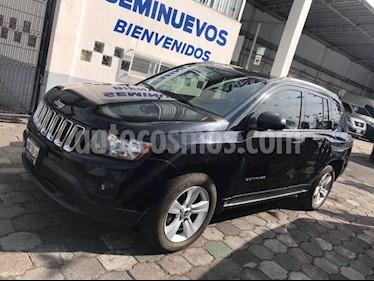 Foto venta Auto usado Jeep Compass 4x2 Latitude Aut (2014) color Negro precio $195,500