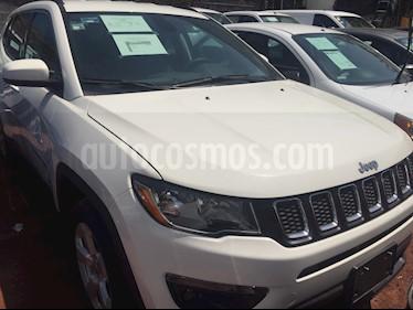 Foto venta Auto usado Jeep Compass 4x2 Latitude (2018) color Blanco precio $415,000