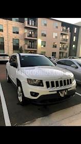 Foto venta Auto Seminuevo Jeep Compass 4x2 Latitude (2014) color Blanco precio $190,000