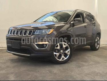 Foto venta Auto usado Jeep Compass 4x2 Limited Aut (2018) color Gris precio $377,900