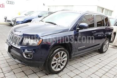 Foto venta Auto Seminuevo Jeep Compass 4x2 Limited Aut (2014) color Azul precio $220,000