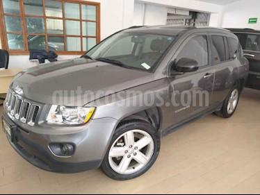 Foto venta Auto usado Jeep Compass 4x2 Limited Aut (2012) color Gris precio $165,000