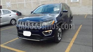 Foto Jeep Compass 4x2 Limited CVT usado (2018) color Azul precio $316,000