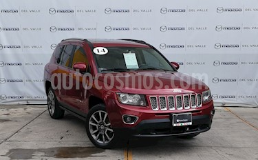 Foto venta Auto usado Jeep Compass 4x2 Limited CVT (2014) color Rojo precio $229,000