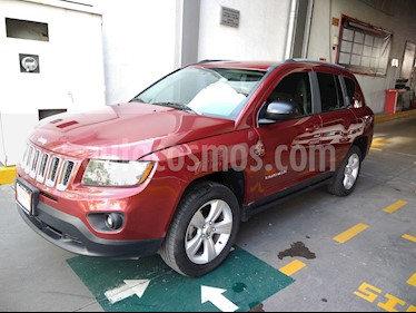 Foto venta Auto usado Jeep Compass 4x2 Limited CVT (2015) color Rojo precio $214,000