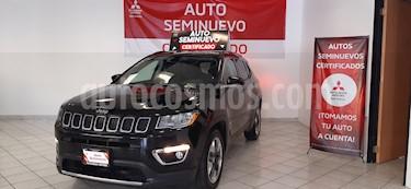 Foto venta Auto usado Jeep Compass 4x2 Limited Premium CVT Nav  (2018) color Negro precio $399,000