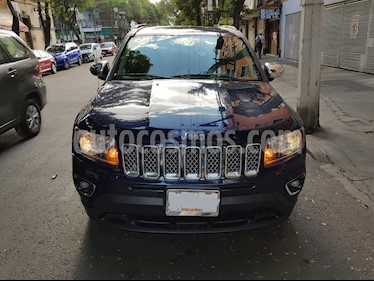 Foto venta Auto usado Jeep Compass 4x2 Limited Premium CVT Nav  (2014) color Azul precio $215,000